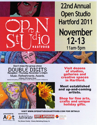 Open Studio Hartford poster - 2011