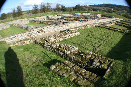 Barracks at Chesters Roman Fort