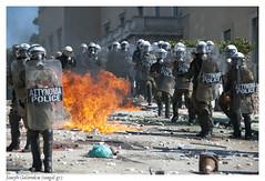 diadilosi_syntagma_2011_10_19_0400 (Joseph Galanakis) Tags: square greek riot stones hellas police athens greece bombs demonstrators classes teargas syntagma