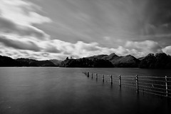 Derwentwater | Keswick | Lake District | Lee Big Stopper (capturedcanvas.co.uk) Tags: blackandwhite canon mono lakedistrict filter lee lakeland keswick catbells 450d bigstopper