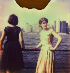 jazz age 1 (snacky.) Tags: 1920s party portrait film vintage project polaroid island dress lawn jazz first age instant flush slr680 ff impossible governors px680