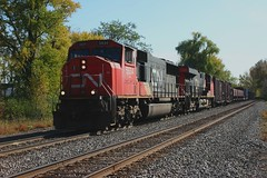 All Set (Wide Cab) Tags: cn train freight canadiannational manifest neenahwi a447 neenahsub