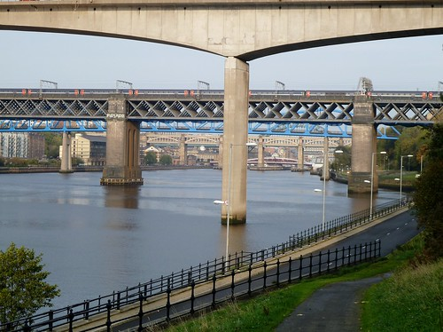 Bridges over River Tyne