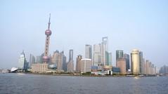 the bund during the day (ms globetrotter) Tags: china river shanghai bund jinmao tvtower huangpu swfc