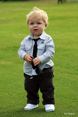 Young stylish boy (@Rick Hughes) Tags: wedding boy golf toddler child tie style chubby oakley stylish dunlop pageboy volleys
