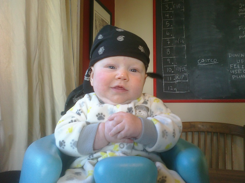 Fwd: Pirate baby