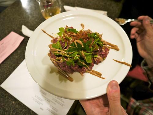 Beef Heart Tartare