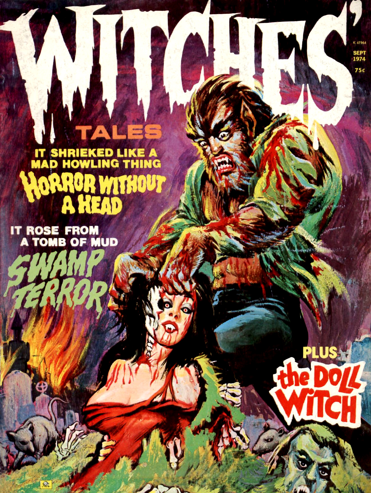 Witches' Tales Vol. 6 #5 (Eerie Publications 1974)