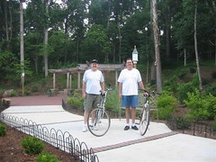 "George & Guest Biking • <a style=""font-size:0.8em;"" href=""https://www.flickr.com/photos/69122677@N02/6284838125/"" target=""_blank"">View on Flickr</a>"
