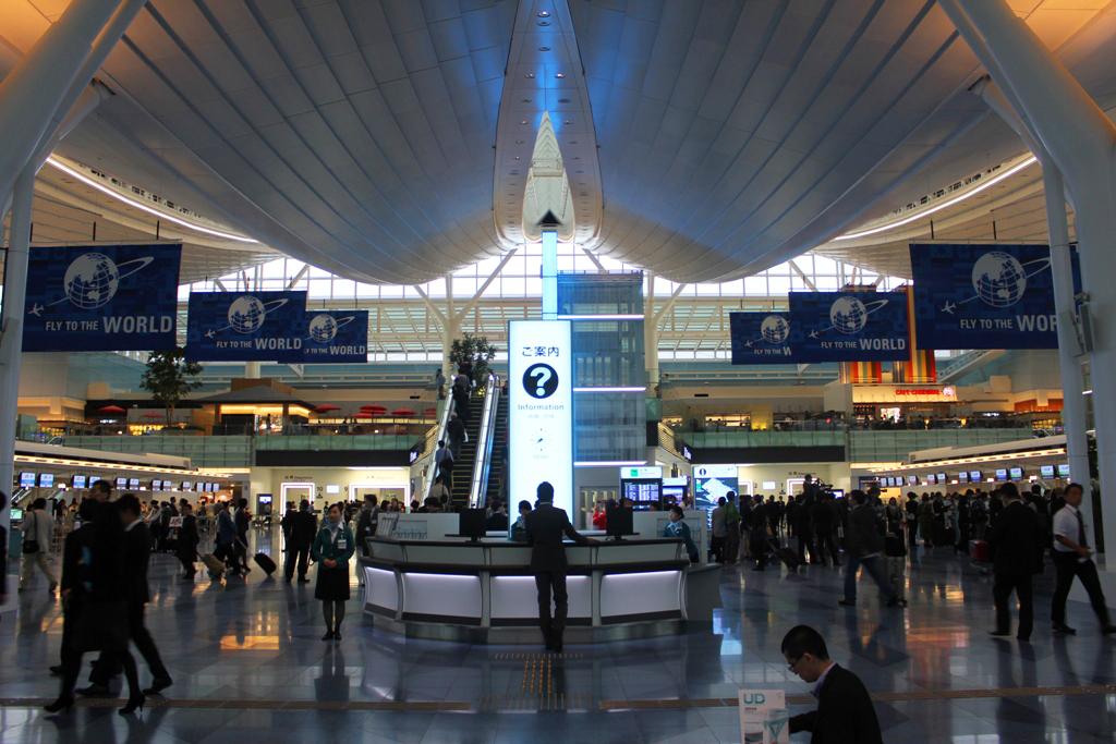 Haneda Airport New international terminal guide  (15)