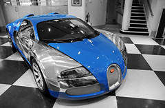 Bugatti Veyron Centenaire Edition ''Jean-Pierre Wimille'' (Robin Kiewiet) Tags: 2005 uk france london robin sport race volkswagen french jack nikon noir photographer britain pierre top united ss great group kingdom grand automotive super racing bleu mans le gb 1750 164 hours 24 407 80 tamron edition lor bugatti sang hermes blanc f28 bentley 1939 wolfgang par eb vag w16 barclay peterbilt centenaire 1001 veyron targa supersport 253 schreiber kiewiet ettore fbg d300s