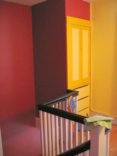 I Think The Linen Closet Is A Place Holder For Attic Stairs, Given The  Economic Use Of Space In The Whole House.