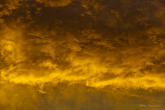 the yellow zone (john dusseault) Tags: sunset sky clouds flickr storms gplus