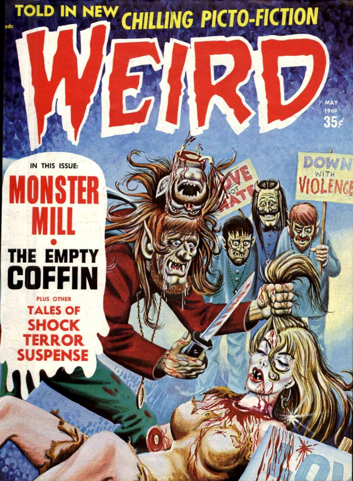 Weird Vol. 03 #2 (Eerie Publications, 1969)