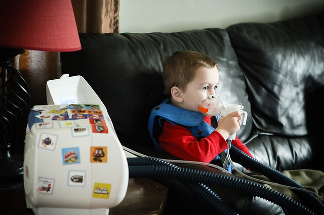 Nebulizer and Vest-2