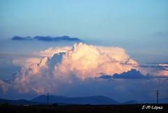 Nublo (E.M.Lpez) Tags: sunset sky landscape atardecer paisaje cielo nubes otoo octubre jaen nube 2011 nublo alcallareal