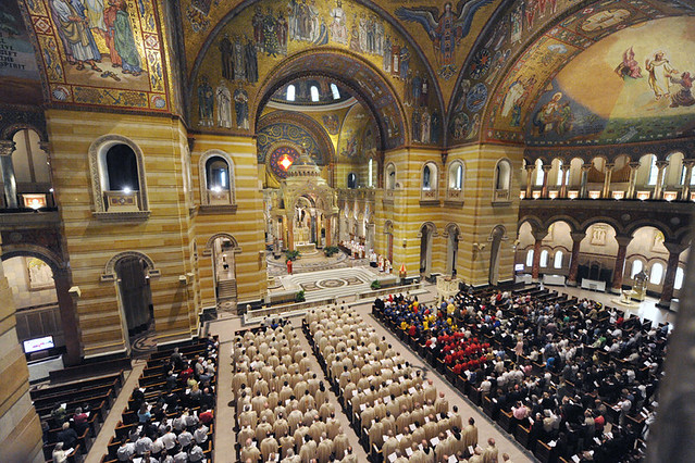 Holy Chrism Mass at the Cathedral Basilica of St. Louis April,9 2009