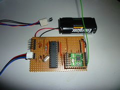 Wireless Temperature Sensor Module uploading t...