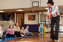 Circus_Skills Workshop at Brooklands School (4) (northyorksymaz) Tags: ian skipton mcmillian camerata selfa