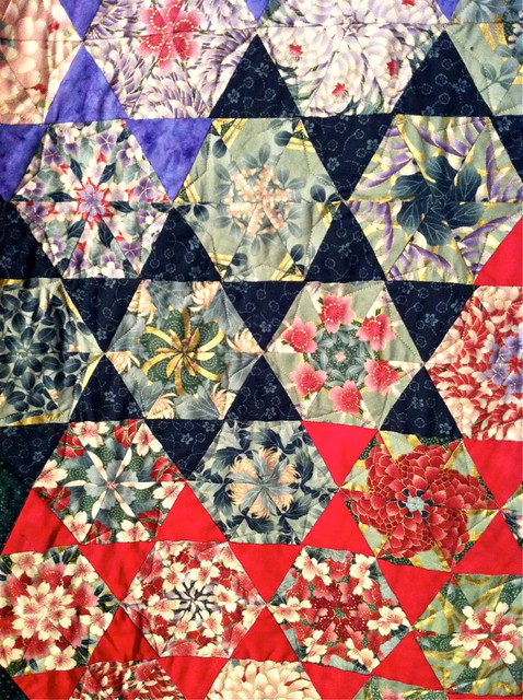 "Emily Nie Quilt, ""A Season of Blooms"""