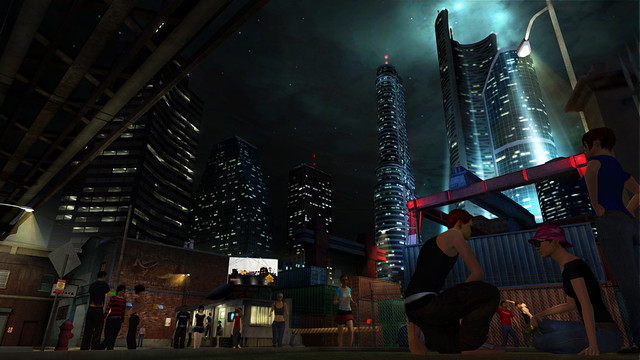 PS Home: Action District