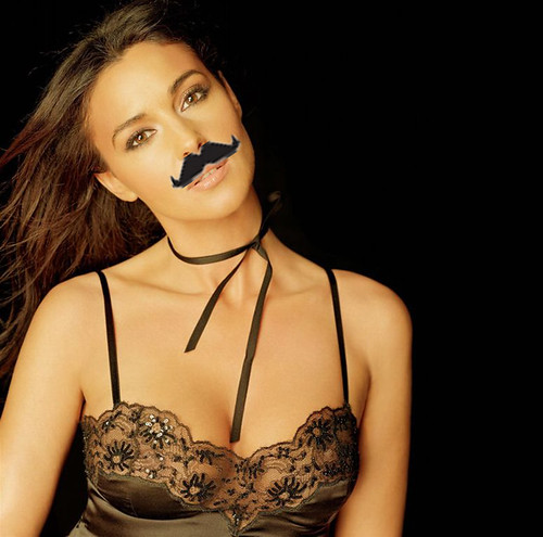 Monica does Movember