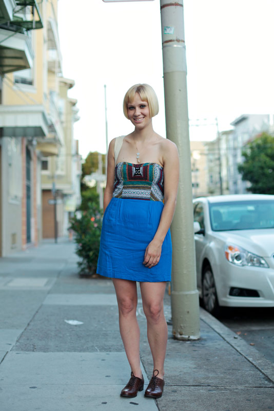 blondblue - san francisco street fashion style