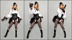 Queen of the Zeppelin Pirates (Helena Love) Tags: tgirl tranny steampunk whitemischief