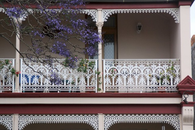 Filigree Balcony