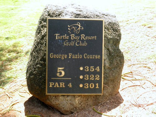 Turtle Bay Colf Course 171b