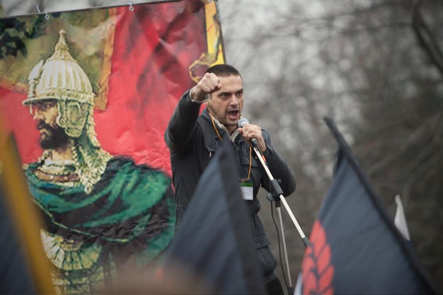 Русская пробежка иРусский Марш
