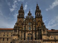 Santiago de Compostela (EMIL  CENZATO) Tags: church spain place cathedral monumento historic belltower chiesa santiagodecompostela spagna cattedrale storia piazz