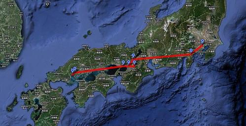 Itinerario básico por Japón