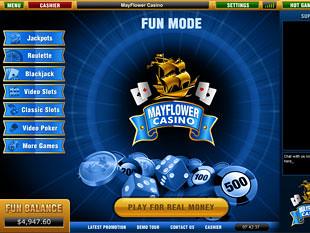 Mayflower Casino Lobby