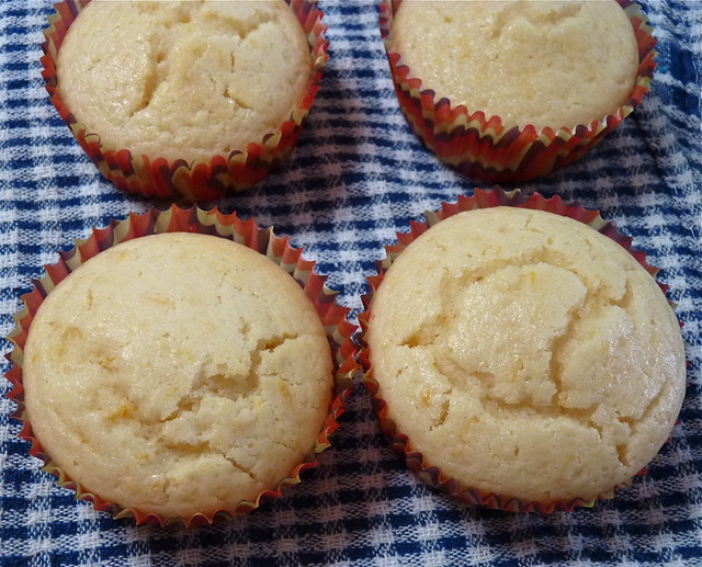 Vegan Extremely Lemony Cupcakes