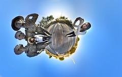 Self Self Portrait (BongoInc) Tags: park panorama selfportrait garden nikon memorial fisheye clones brazilian 360degrees d90 stereographicprojection nikond90 lilacalilcampos