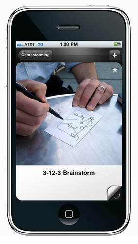Gamestorming iPhone app