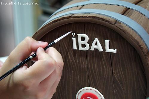 Tarta barril paso 4