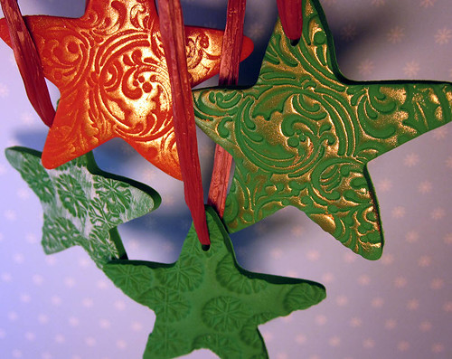 Polyclay ornaments