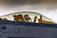 Curse of the Heavens - Lockheed Martin F-22A Raptor Pilot (Richard Calver - www.richardcalver.co.uk) Tags: usa storm unitedkingdom aviation military unitedstatesofamerica gesturing raptor f22 usaf pilot usairforce lockheedmartin langleyafb moodysky stealthfighter f22a aircombatcommand 1stfw richardcalver port11 fifthgenerationfighter wwwrichardcalvercouk suffolkfreelancephotographer af05101