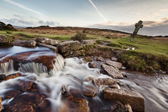 IMG_0454 (Simon J Byrne) Tags: two canon waterfall stream long exposure cross post bridges windy lee 5d filters moor grad tavistock dartmoor 1740 cairn density mkii neutral merrivale