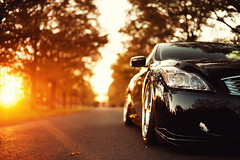Peter Skopas - Infiniti G37 (Ronaldo.S) Tags: autumn fall 50mm nikon f14 air sigma flare forged iss infiniti slammed g37 d700