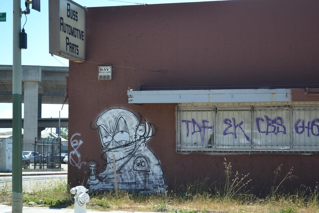 LOGO, EK, IT, PTV, 640, Oakland, Graffiti, Street Art