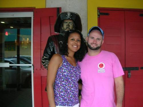 At Senor Frogs in Nassau