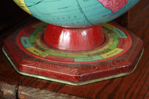 Seasons Globe Close Up