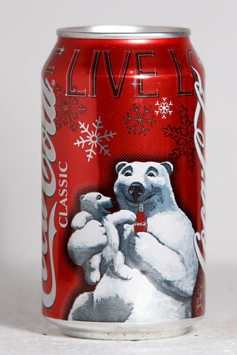 2005 Coca-Cola Classic USA Christmas Polar Bears by roitberg