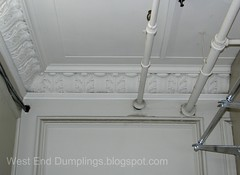 1Ceiling moulding, main floor, east side