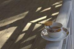 ek chai biskoot ki yaad, woh baramdein mein... (~SilpaS GLH~) Tags: morning travel woman india canon photography photographer shadows tea patterns biscuit chai himachalpradesh chail eos7d biskoot glasslighthues gettyimagesindiaq3 gettyimagesindiaq4