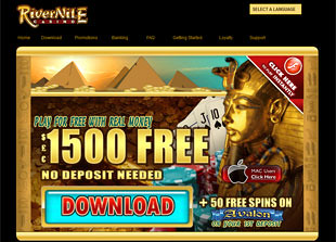 River Nile Casino Home