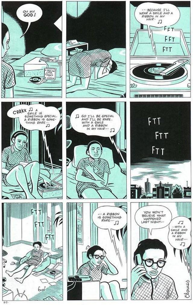 ghost world comic essay